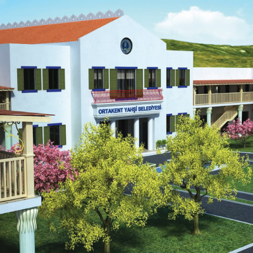 Ortakent Belediye Binası
